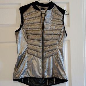 Nike Aero loft Metallic 800 down vest
